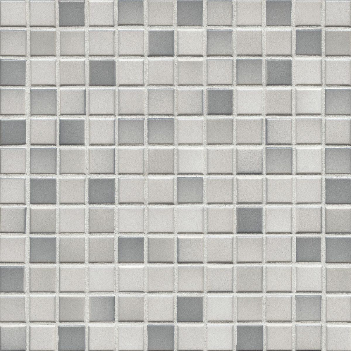 Мозаика серия Fresh 2,4 X 2,4 см Light Gray Mix Secura (противоскользящая R10/B)