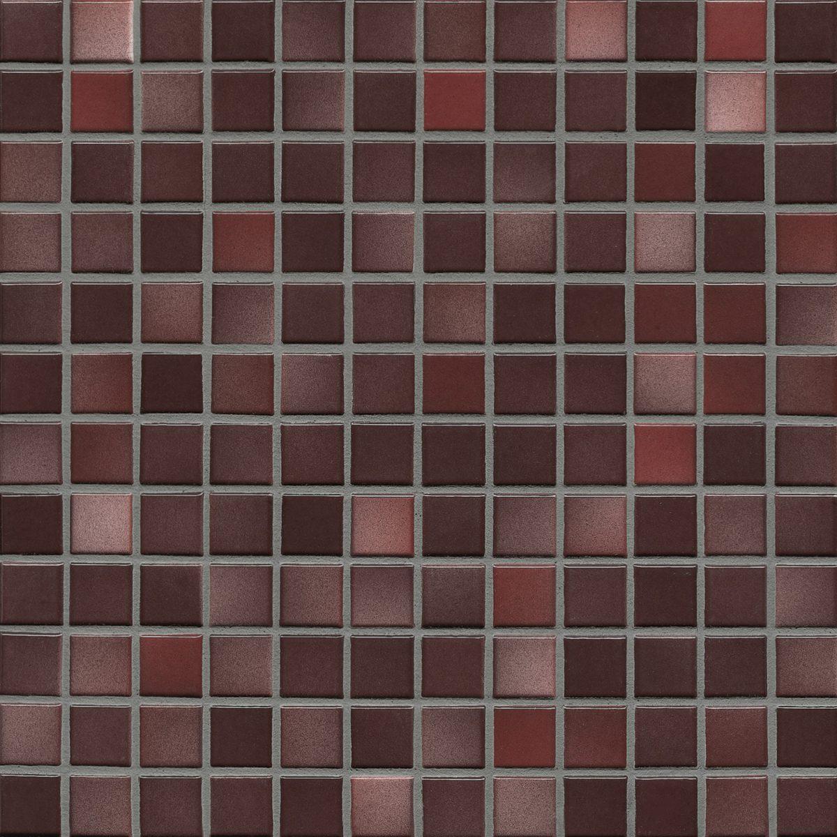 Мозаика серия Fresh 2,4 X 2,4 см Mystic Red Mix Glossy (глазурованная)