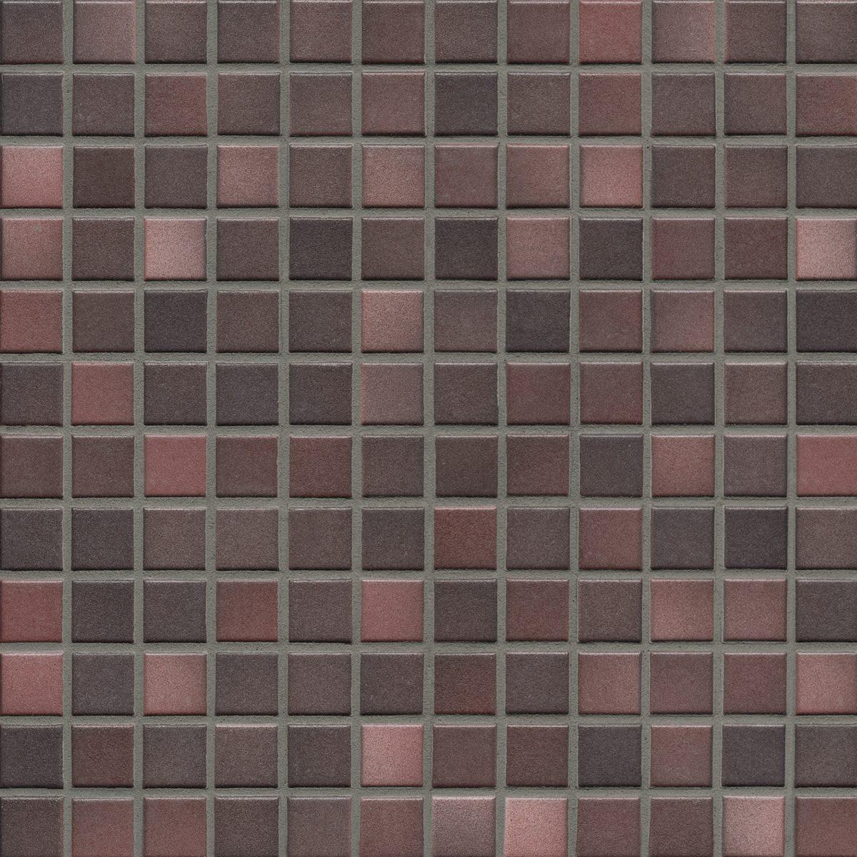 Мозаика серия Fresh 2,4 X 2,4 см Mystic Red Mix Secura (противоскользящая R10/B)