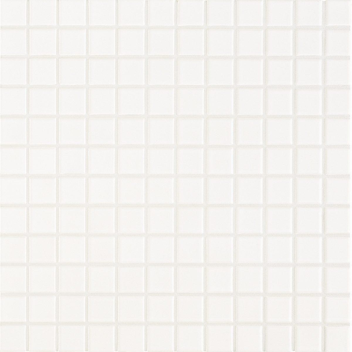 Мозаика серия Fresh 2,4 X 2,4 см Snow White Glossy (глазурованная)