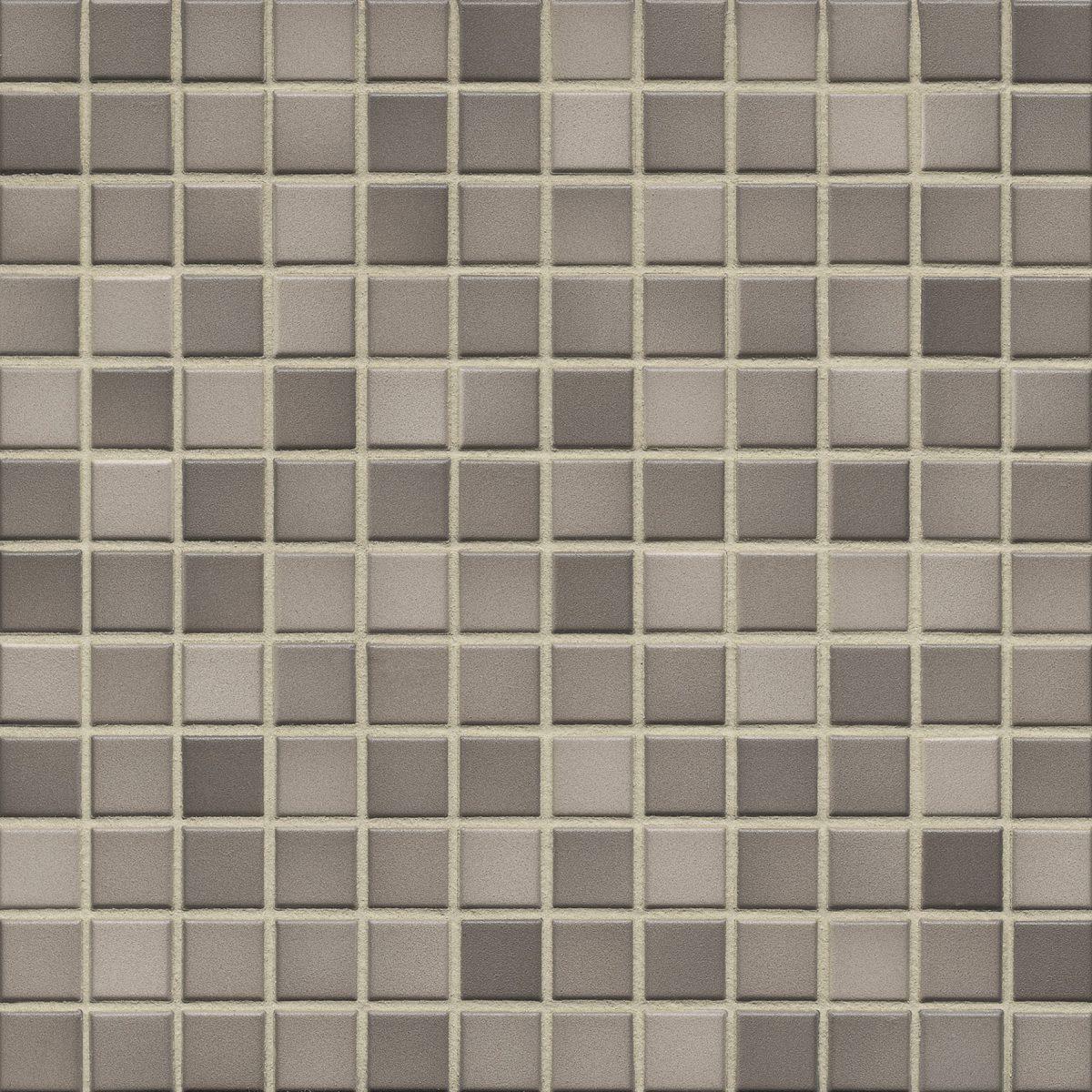 Мозаика серия Fresh 2,4 X 2,4 см Taupe Mix Secura (противоскользящая R10/B)