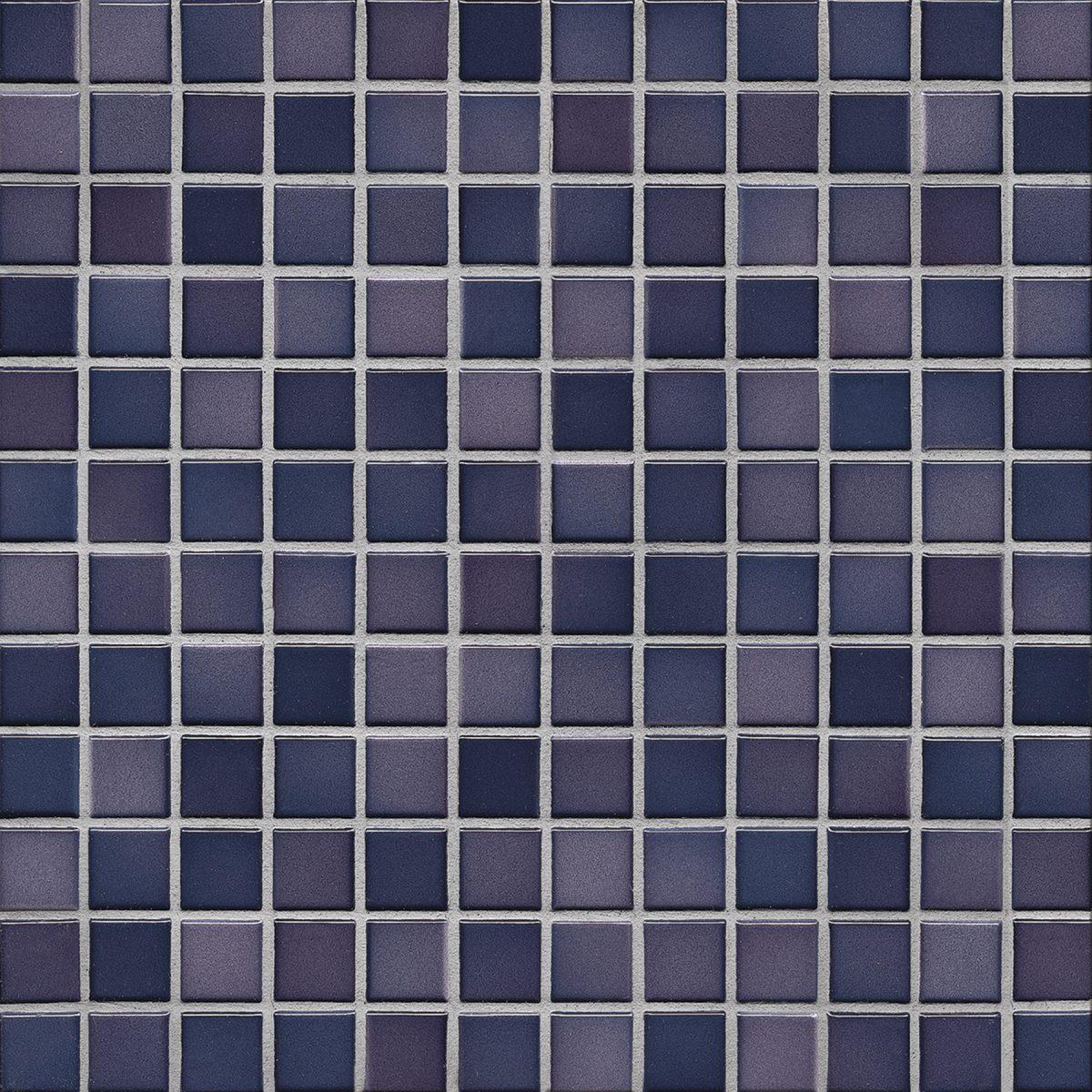 Мозаика серия Fresh 2,4 X 2,4 см Vivid Violet Mix Glossy (глазурованная)