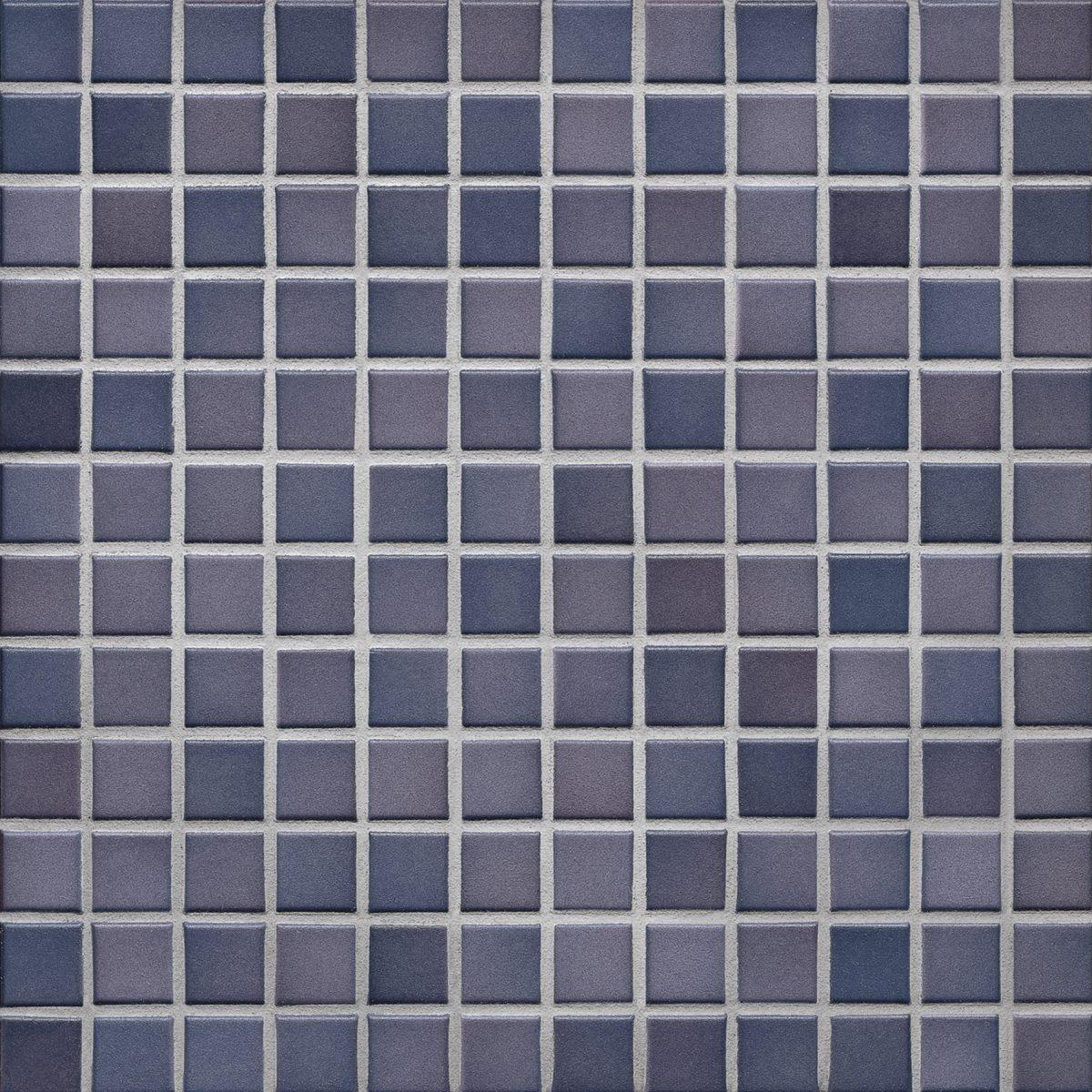 Мозаика серия Fresh 2,4 X 2,4 см Vivid Violet Mix Secura (противоскользящая R10/B)