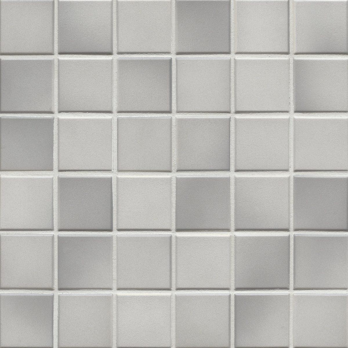 Мозаика серия Fresh 5,0 X 5,0 см Light Gray Mix Secura (противоскользящая R10/B)