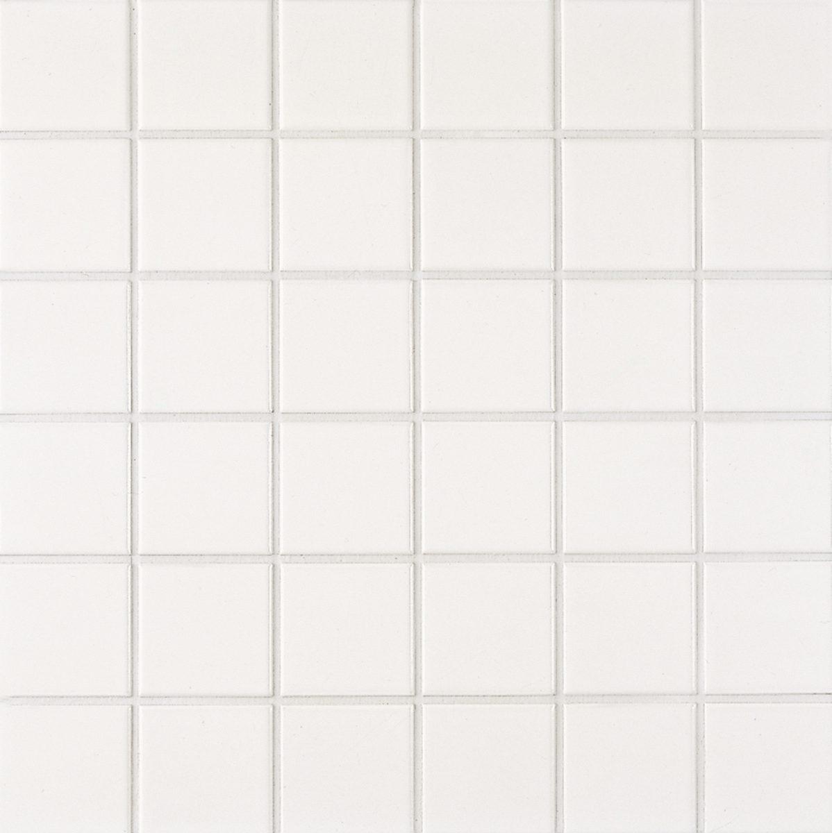 Мозаика серия Fresh 5,0 X 5,0 см Snow White Secura (противоскользящая R10/B)