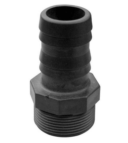 Муфта для гофрированного шланга D=38 мм, 1 1/2″ Gemas, ПВХ