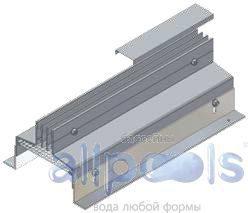 Напольные щелевые диффузоры ASS-2 (Симметричное исполнение)