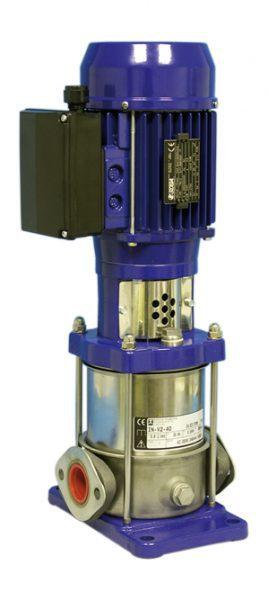 Насос повышения давления для установок озон. Din-o-zon VARIO V2, тип FN-V 2-40, 230 В, 0,55 кВт, вертикального положения