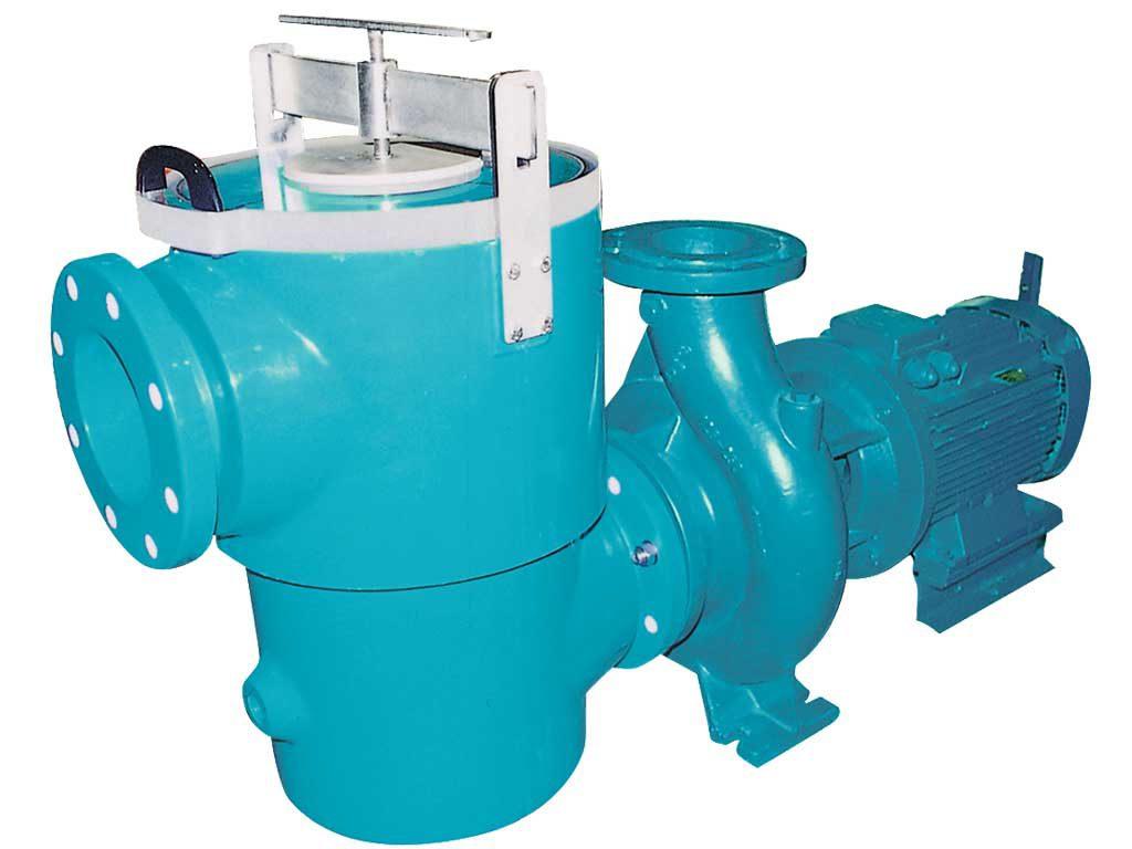 Насос с префильтром PUMPEX GNM 100-250 (чугун), 150 м3/час, 11 кВт