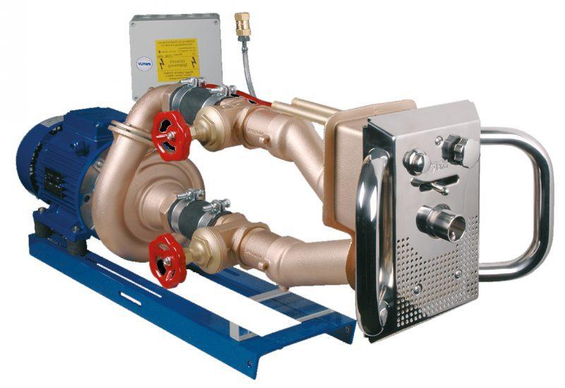 Основной комплект противотока Fitstar Junior, 2,8 кВт, 800 л/мин