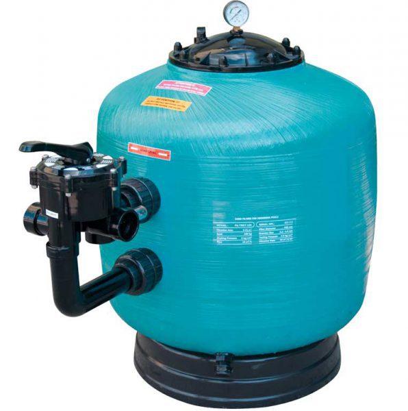 Песочный фильтр Turbidron BL, O 1000 мм, 40 м3/ч, клапан сбоку