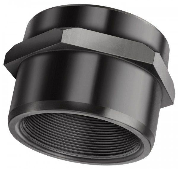 Пластковый адаптер Rp 2¾» внутр.р. X Rp 3″  внутр.р./d=110 мм под клей