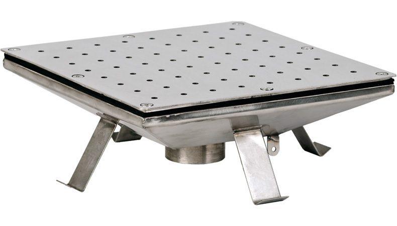 Плато квадратное аэромассажное 500х500 мм, плитка, 100 м3/ч