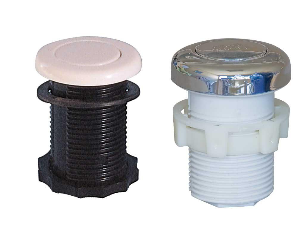 Пневмокнопка 1″, 3 мм — подсоед. воздуха, пластик