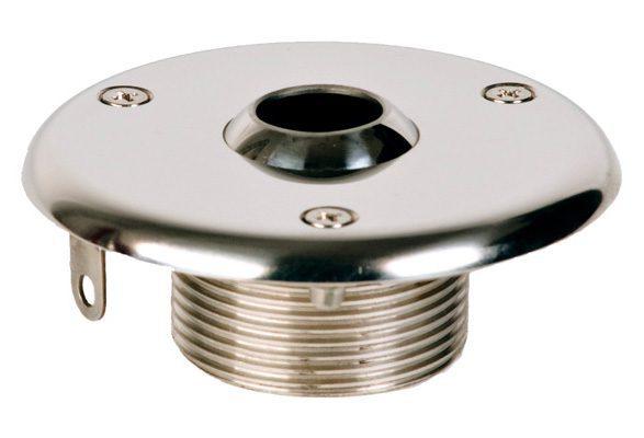 Подающая форсунка стеновая для плиточного бассейна, D=90 мм, нар. резьба G1 1/2