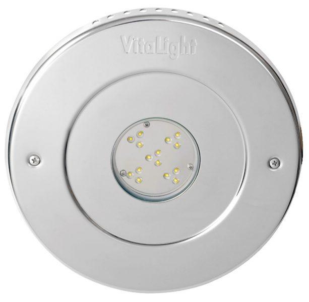 Подводный светодиодный прожектор Vitalight Power-LED 2.0, 15 X 3Вт, 24В, 3000K, O270мм