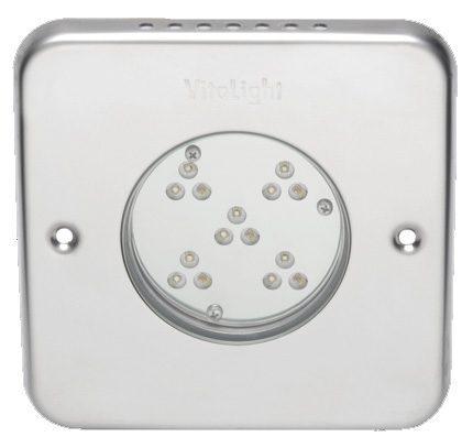 Подводный светодиодный прожектор Vitalight Power-LED 2.0, 15 X 3Вт, 24В, 4500K, 155мм