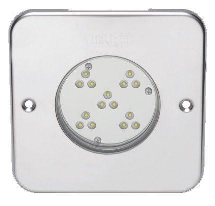 Подводный светодиодный прожектор Vitalight Power-LED 2.0, 15 X 3Вт, 24В, RGB, 150мм