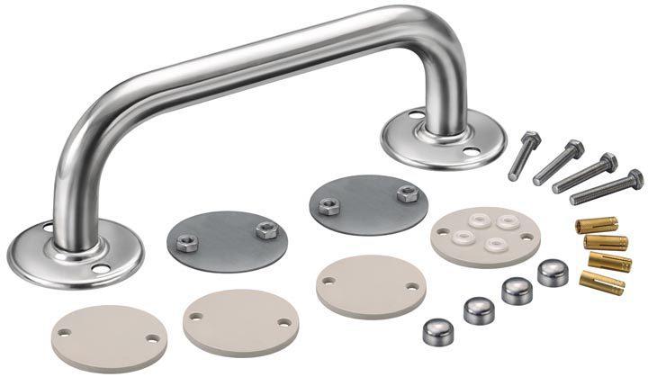 Поручень для BADUJET Smart, нерж. сталь, 25 X 250 мм
