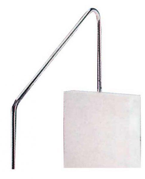 Поручень для римской лестницы , нерж. сталь AISI 304, 1220 мм