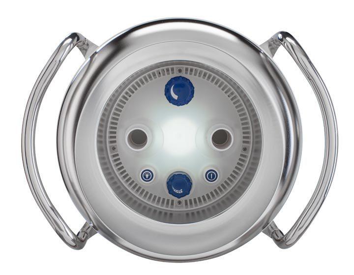 Противоток BADUJET Primavera, 85 м3/ч, с белым прож. LED, 3~ ?400 В, 4,66/4,00 кВт (ОСН. К-Т)
