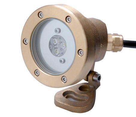 Прож. 3 Power LED 2.0, ПРУД/ФОНТ., 8 Вт, 24В DC, 40°, RGB, 5 м 2×0,75 мм2, BZ
