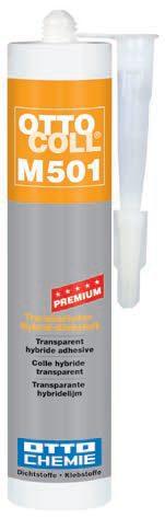 Прозрачный гибридный клей OTTOCOLL M 501