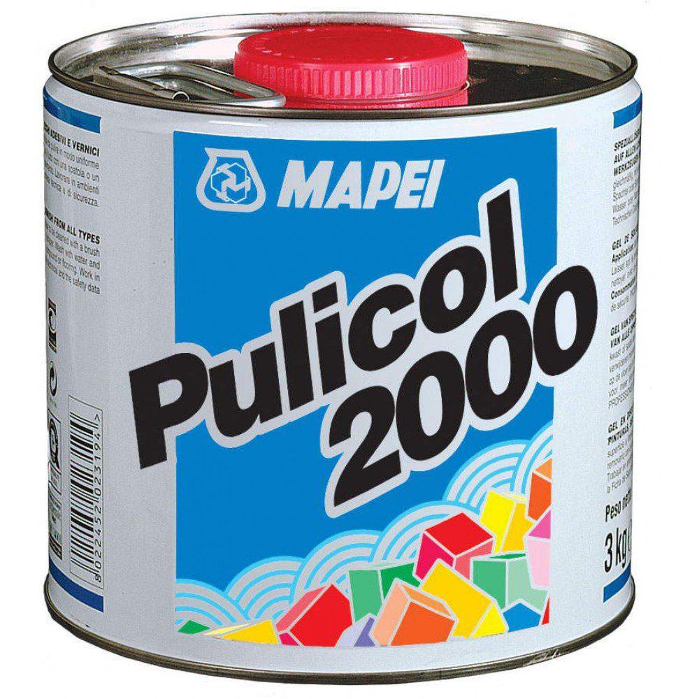 PULICOL 2000, гель д/удаления клеев и краски с плитки, натурального камня, 2,5 кг