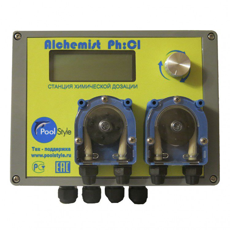 Пульт автоматического дозирования Ph/Rx Alchemist Ph/Cl