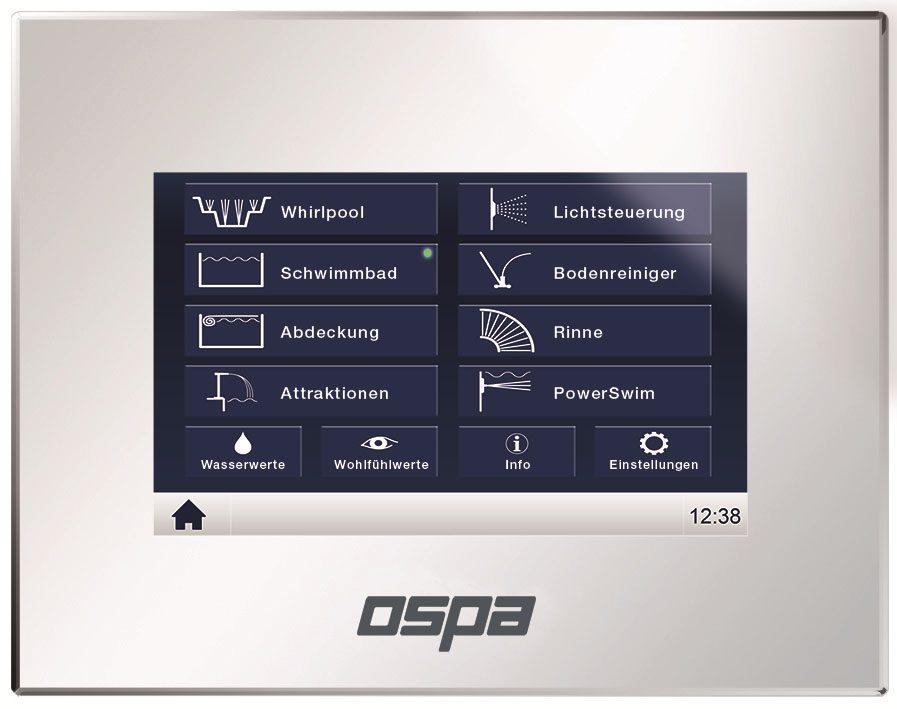 Пульт управления Ospa-BlueControl IV Web 7''