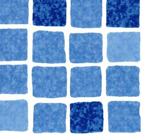 ПВХ пленка армированная противоскользящая (Antislip) мозаика синяя, STG 200, 2 м