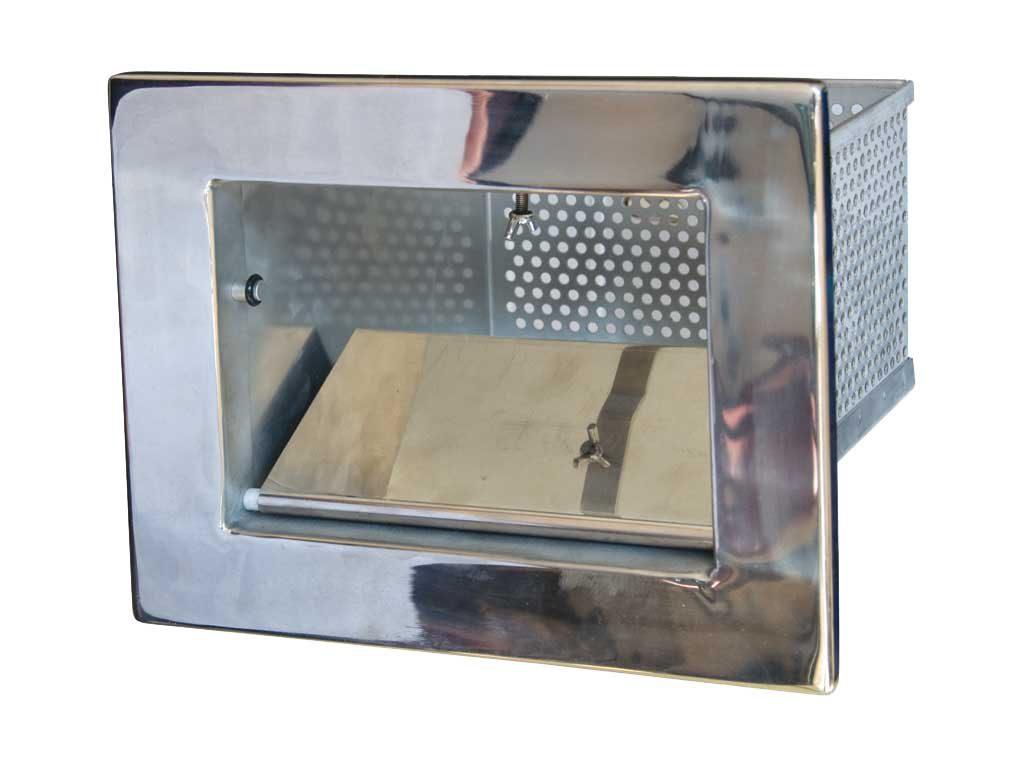 Рамка скиммера из нерж. стали под бетон.басс.