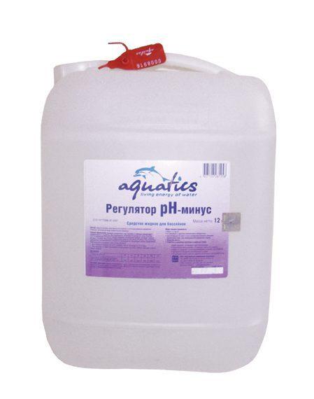 Регулятор PH- минус жидкий для бассейнов, 12 кг (10 л)