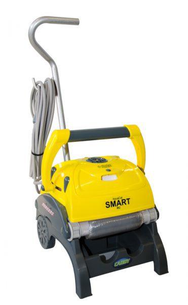 Робот очиститель AquaCat SMART RC с EFS, длина кабеля 18 м, для чаш площадью до 100 м3