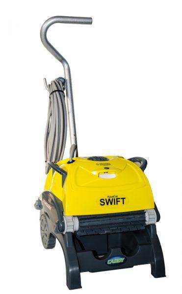 Робот очиститель AquaCat SWIFT C EFS, длинна кабеля 17 м, для чаш площадью до 80 м2