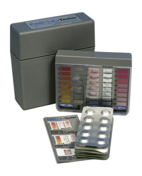 Ручной тестер для измерения PH, хола, брома Pooltester DPD1 (пултестер)