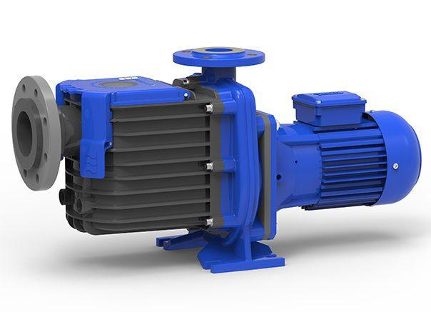 Самовсасывающий насос WATERblue-H Н-050-130А-H-0112Н, IE2 50 Гц, 1,1 кВт, 3~ 400 В