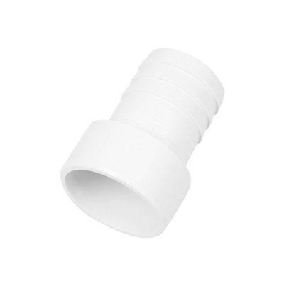 Штуцер для шланга D39 мм,d50 мм, белый