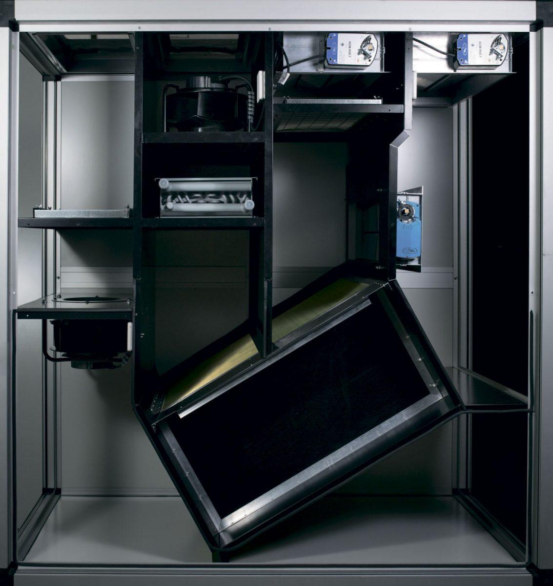 Система вентиляции бассейна GreenAir-Pool 2000, с терморазрывом и тепловым насосом