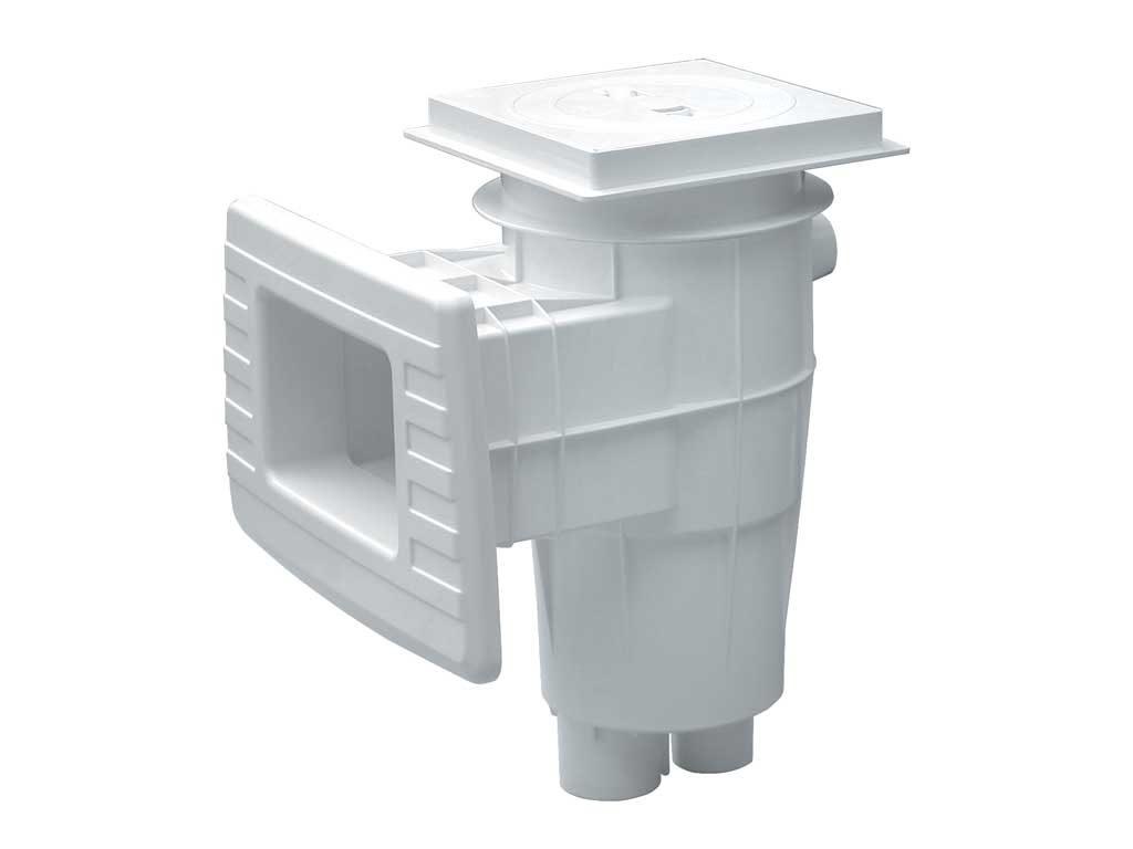 Скиммер Lux Standard для бет. басс, ABS пластик