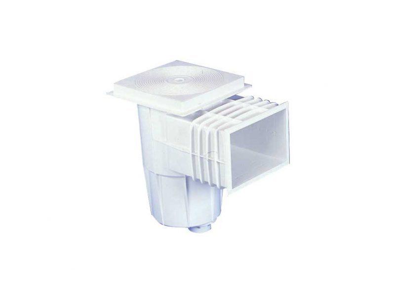 Скиммер Lux Standard с веерным поплавком, плитка, ABS пластик