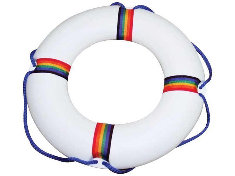 Спасательный круг Gemas, из пластика