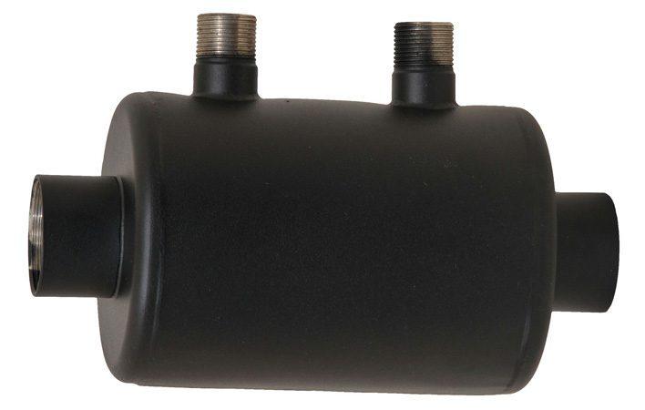 Спиральный (горизонтальный) теплообменник Xenozone, 13 кВт, 3/4″