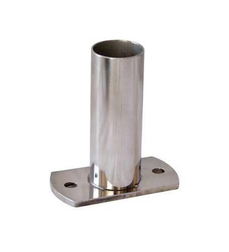 Стакан для крепления лестницы , O 42 мм, нерж. сталь AISI 304