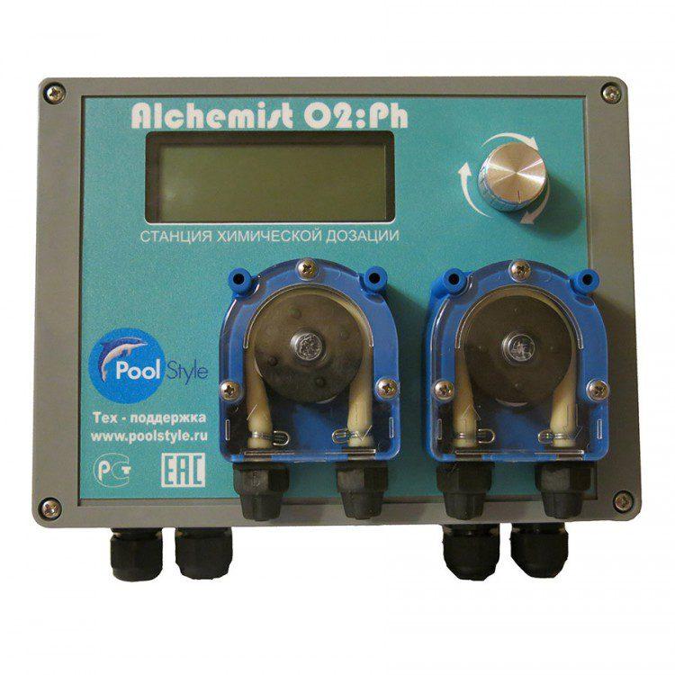 Станция автоматической дозации O2/pH «Alchemist»