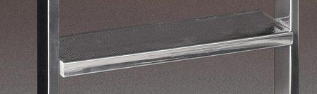 Ступень безопасности KLASSIK, 180×485 мм, AISI 316 (дополнительно)