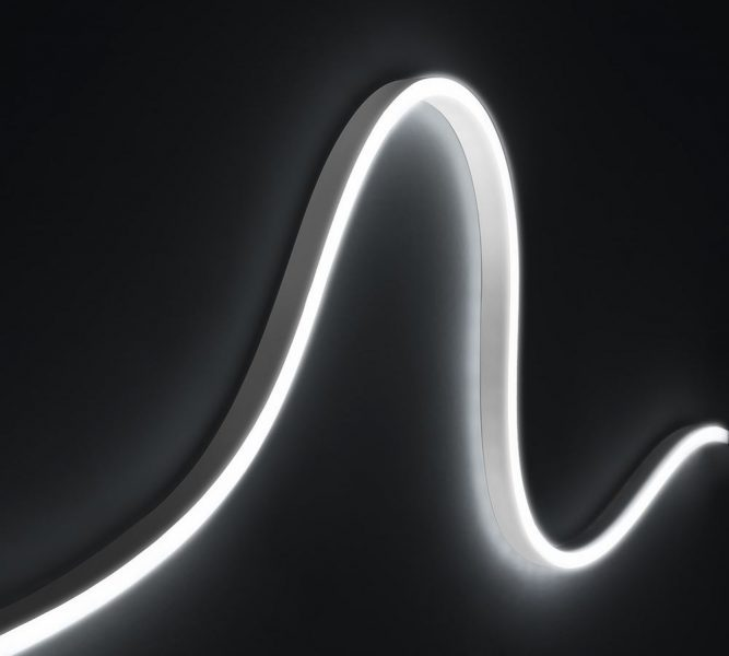 Светодиодная лента AQUALUC WAVE, красный 624 нм, 24 В, 31 Вт, L=3,74 м