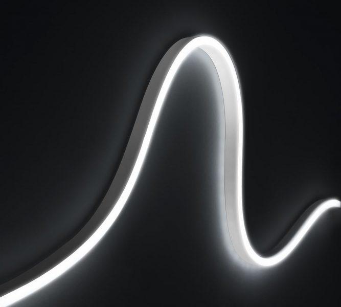 Светодиодная лента AQUALUC WAVE, синий 470 нм, 24 В, 31 Вт, L=3,74 м