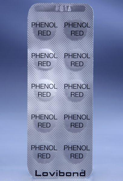 Таблетки PHENOL RED для тестеров, рН, 100 шт.