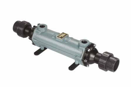 Теплообменник трубчатый 108 кВт (при T=82°С), титан, вых.: 63мм/ 1″ внутр.р.